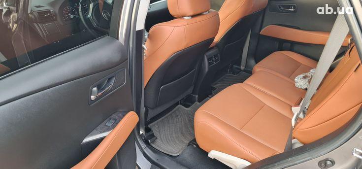 Lexus rx 350 2013 серый - фото 12