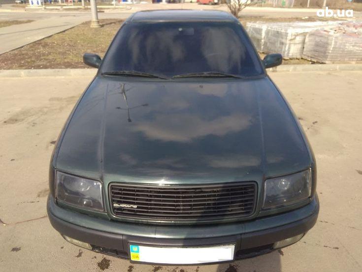 Audi 100 1991 зеленый - фото 1
