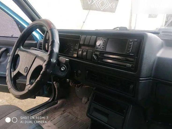 Volkswagen Jetta 1985 зеленый - фото 6
