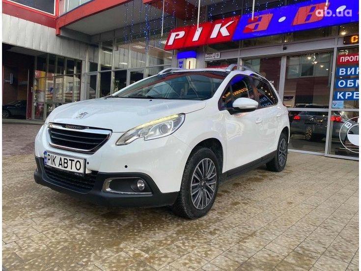 Peugeot 2008 2014 белый - фото 2