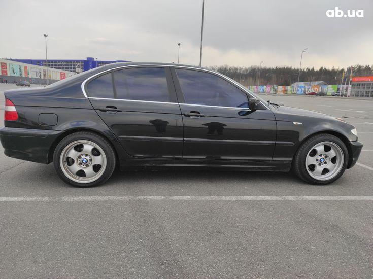 BMW 3 серия 2003 черный - фото 5