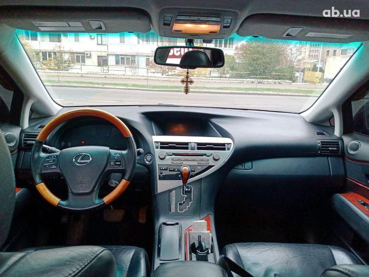 Lexus RX 2010 черный - фото 15