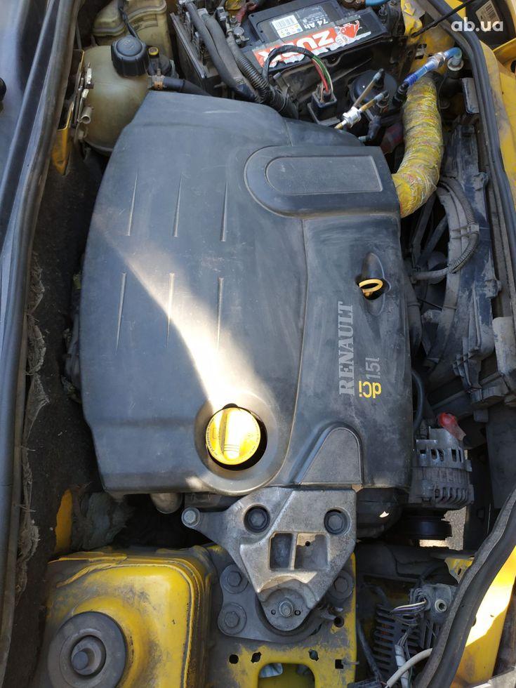 Renault Kangoo 2003 желтый - фото 10
