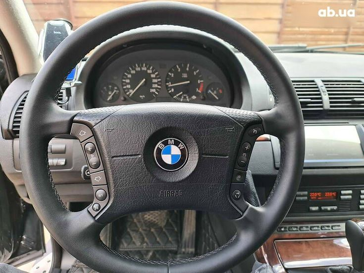 BMW X5 2005 черный - фото 13