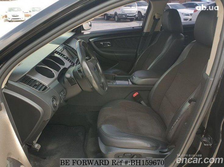 Ford Taurus 2012 черный - фото 5