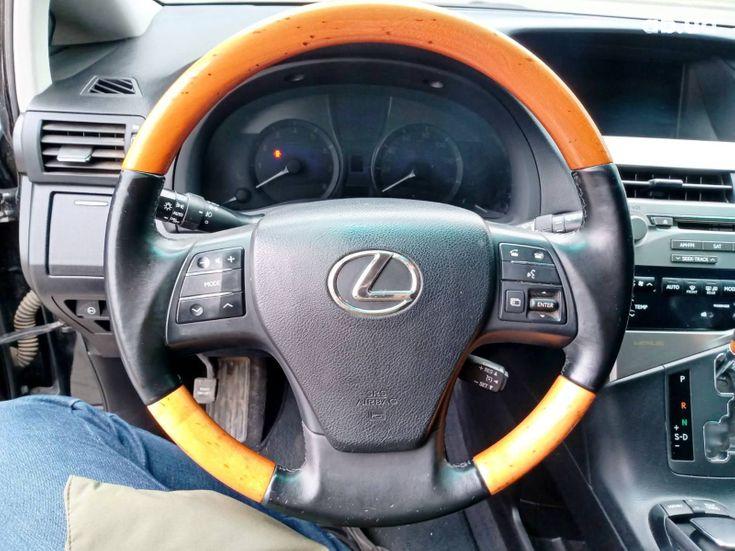 Lexus RX 2010 черный - фото 10
