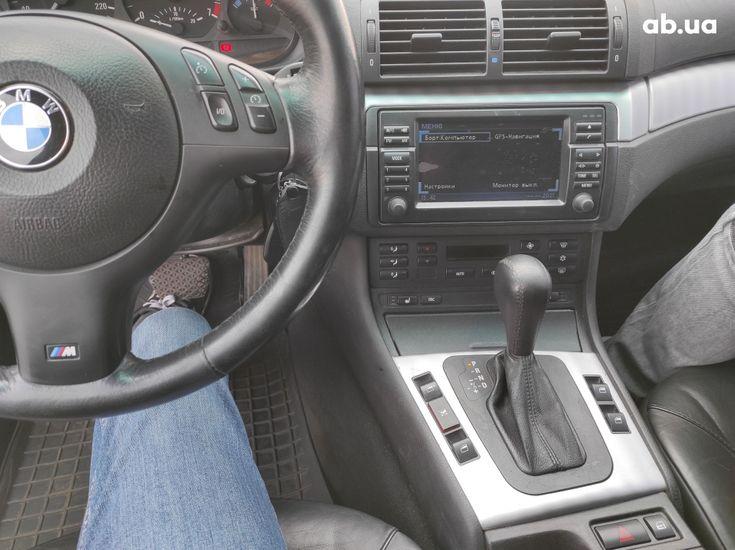 BMW 3 серия 2003 черный - фото 10