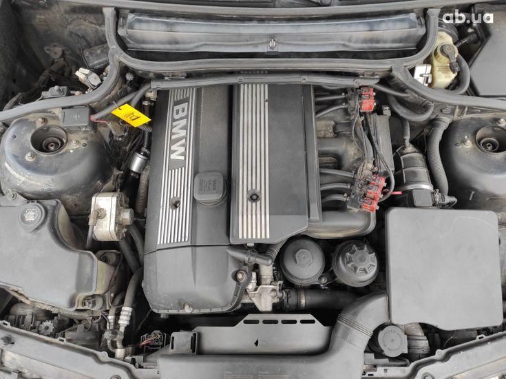 BMW 3 серия 2003 черный - фото 16