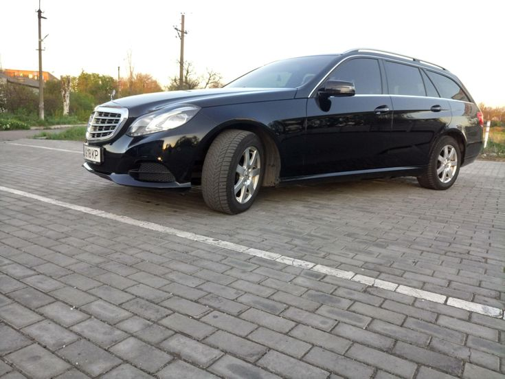 Mercedes-Benz E-Класс 2014 черный - фото 3