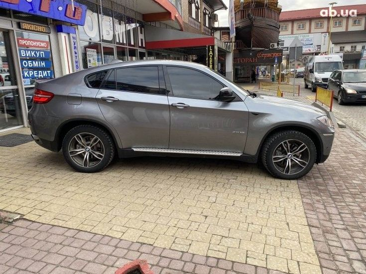 BMW X6 2014 серый - фото 4