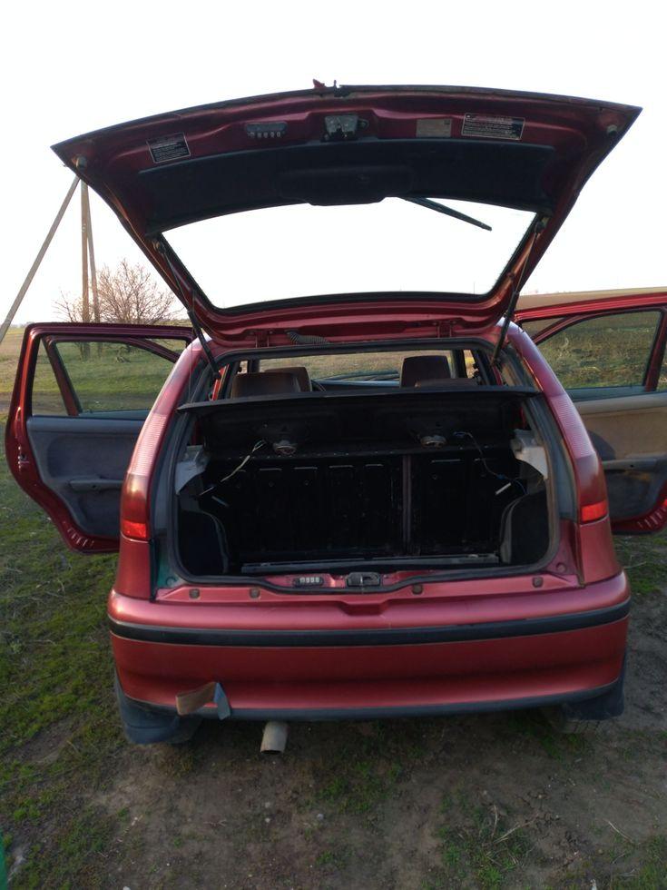 Fiat Punto 1998 красный - фото 3