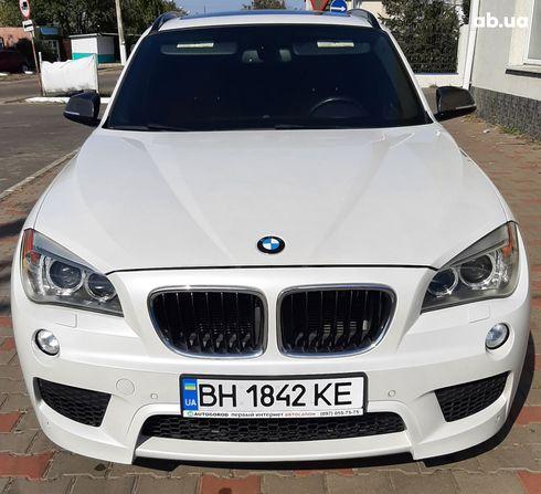 BMW X1 2013 белый - фото 1
