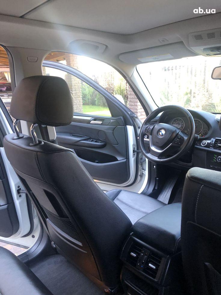 BMW X3 2011 белый - фото 15