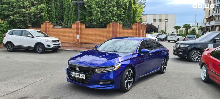 Honda Accord 2019 синий - фото 1