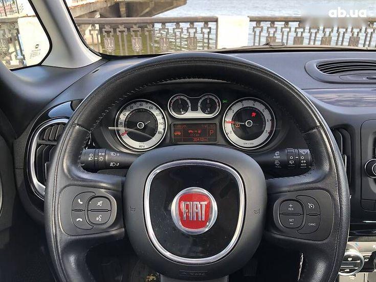 Fiat 500L 2015 синий - фото 7