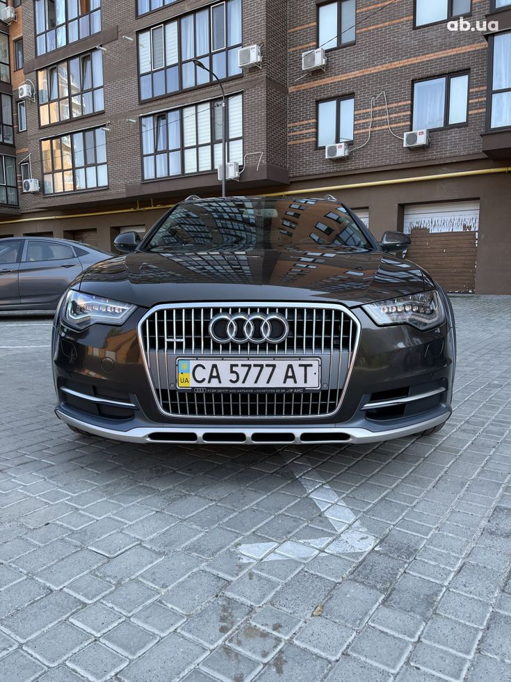 Audi a6 allroad 2013 коричневый - фото 11
