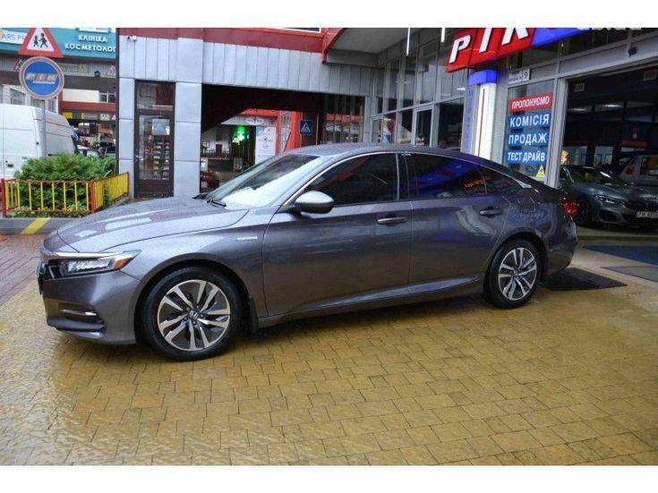 Honda Accord 2018 серый - фото 3