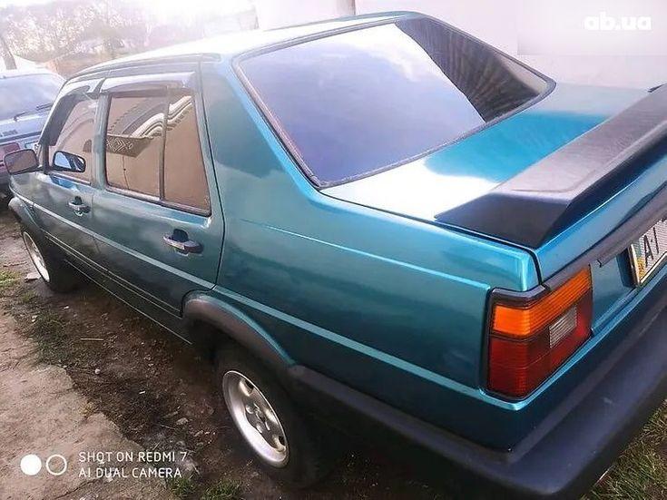 Volkswagen Jetta 1985 зеленый - фото 7