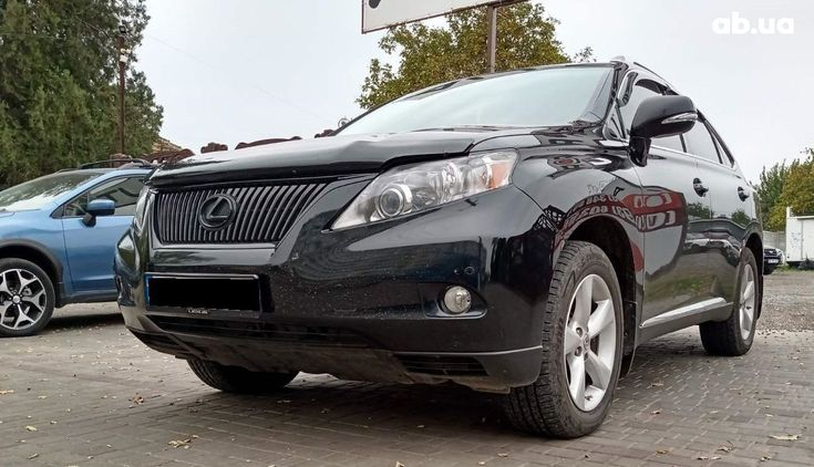 Lexus RX 2010 черный - фото 1