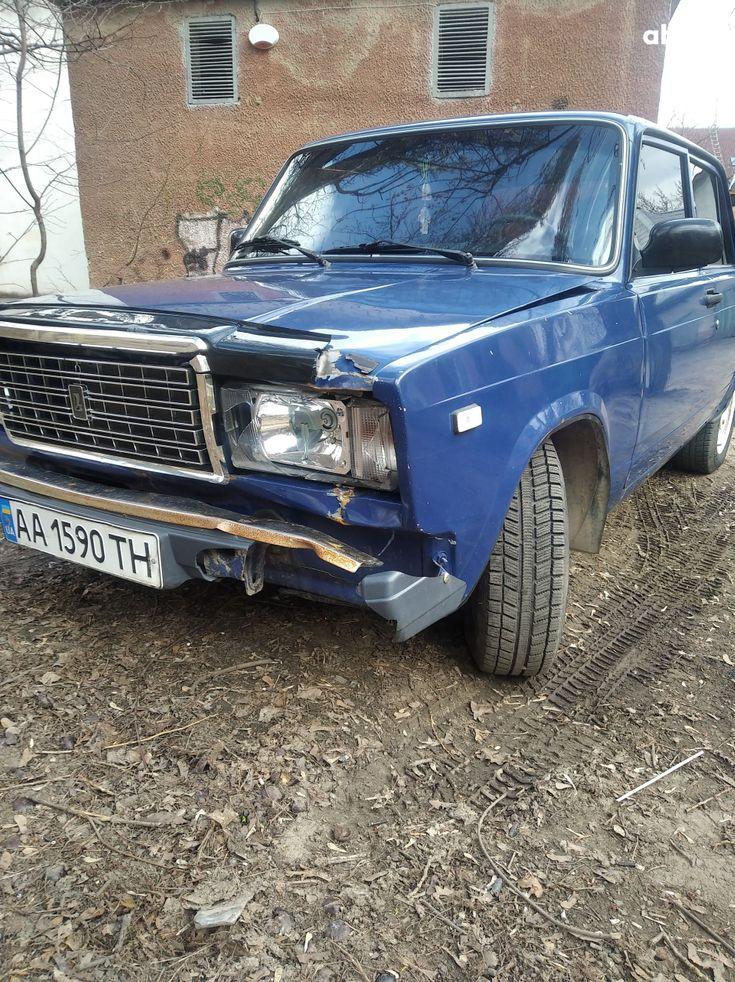 ВАЗ 2107 2005 синий - фото 3