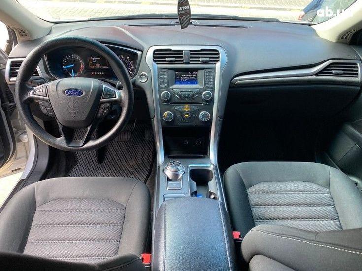 Ford Fusion 2016 серебристый - фото 11