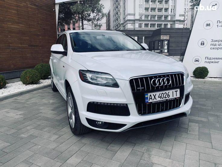 Audi Q7 2013 белый - фото 2