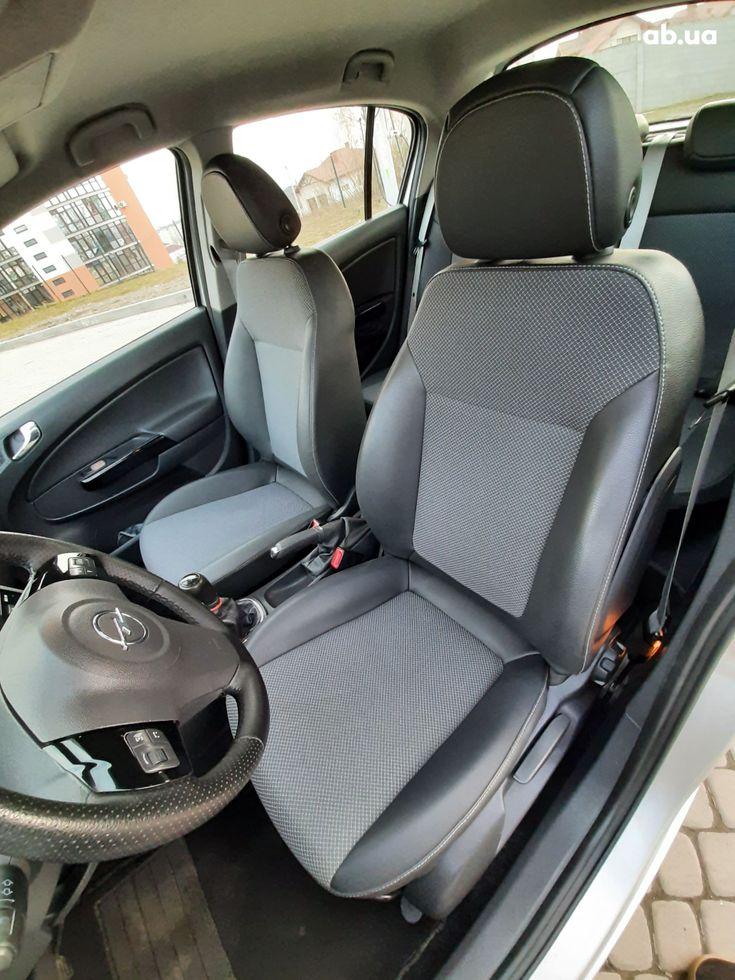Opel Corsa 2008 серый - фото 6
