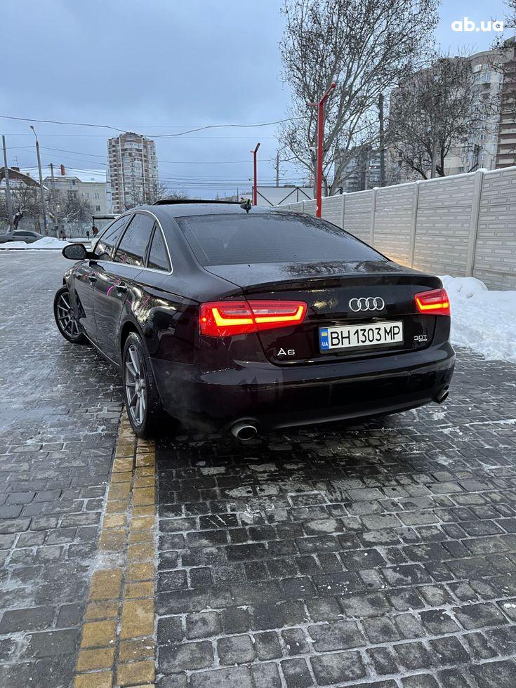 Audi A6 2013 черный - фото 8
