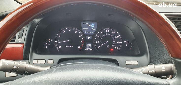 Lexus LS 2007 серебристый - фото 2