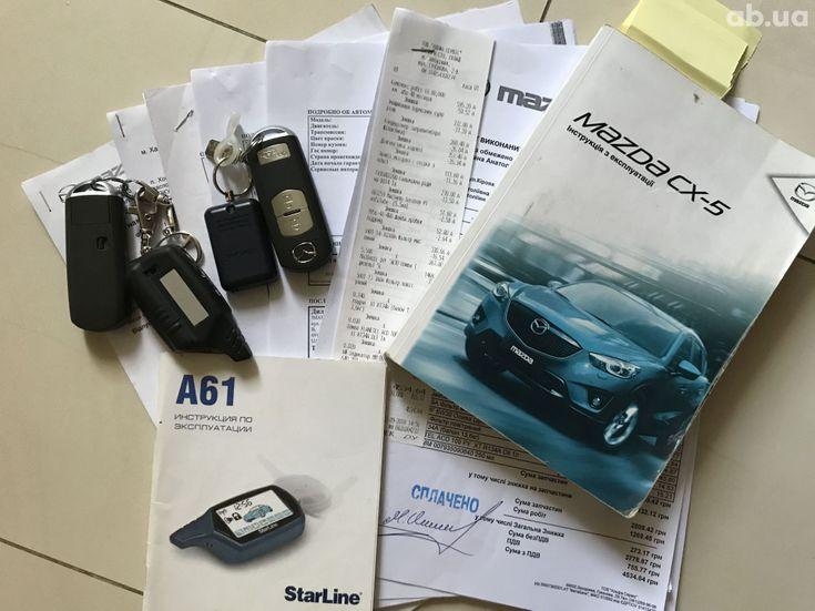 Mazda CX-5 2014 белый - фото 14