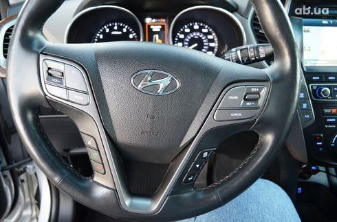 Hyundai Santa Fe 2017 серый - фото 15