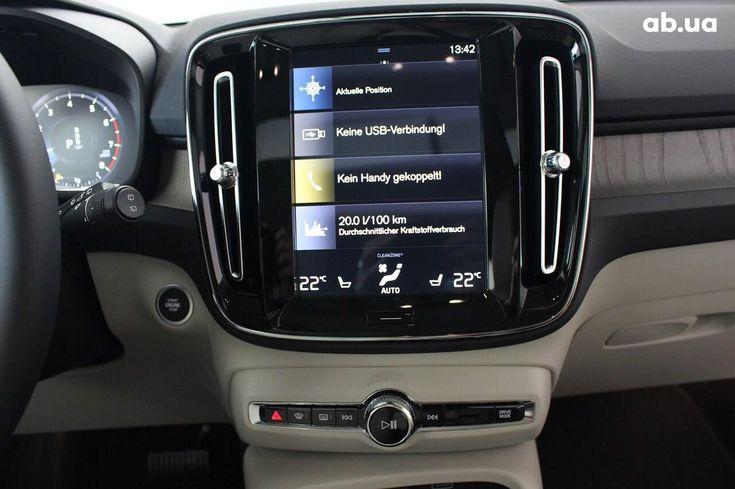 Volvo XC40 2019 серый - фото 11
