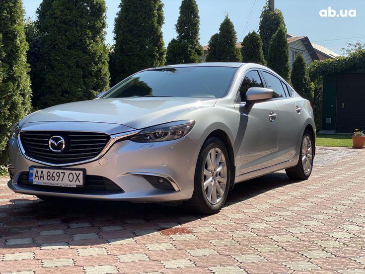 Mazda 6 2015 серебристый - фото 1