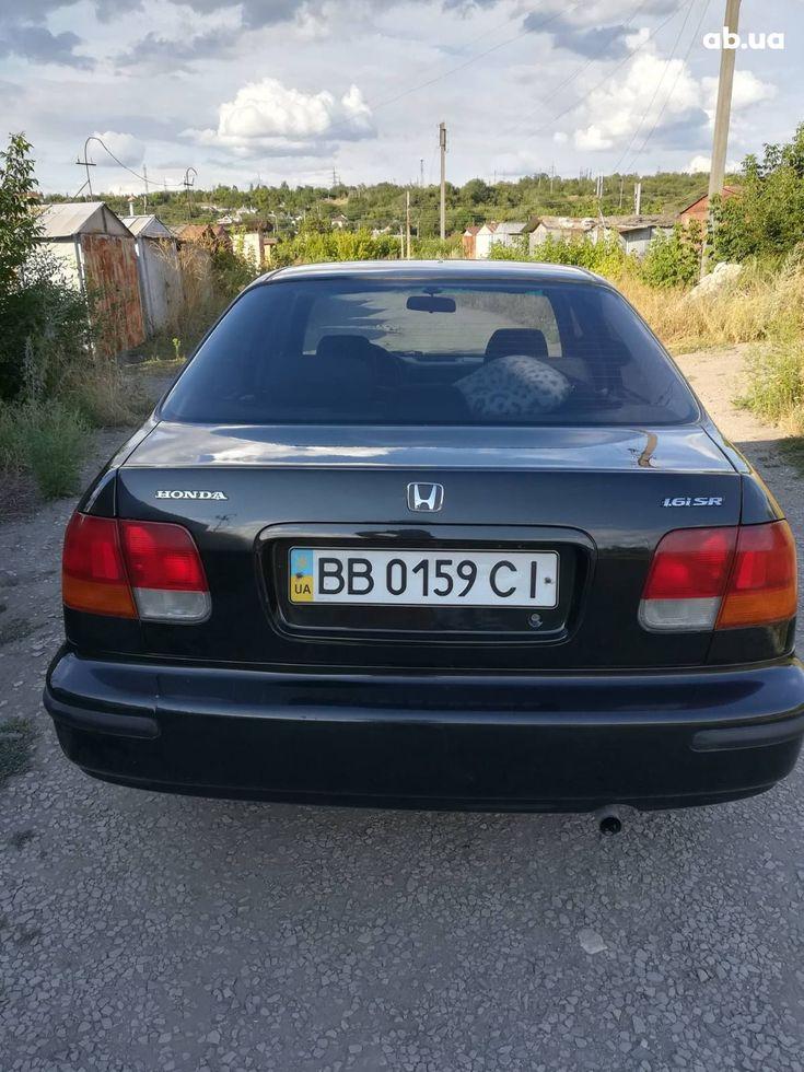 Honda Civic 1997 черный - фото 7
