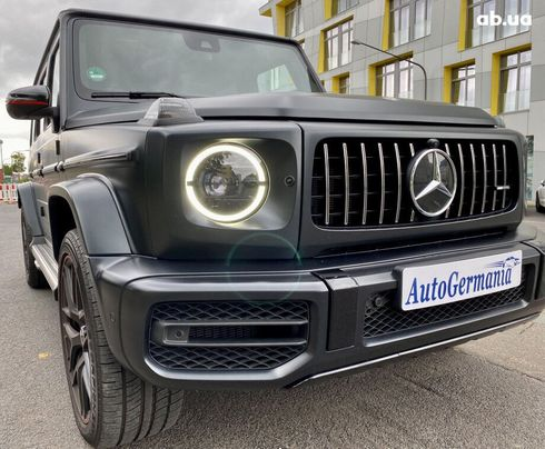 Mercedes-Benz G-Класс 2020 черный - фото 1