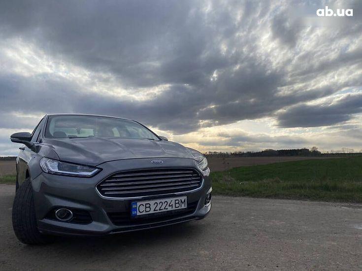 Ford Fusion 2014 серый - фото 20