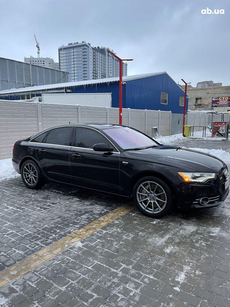 Audi A6 2013 черный - фото 6