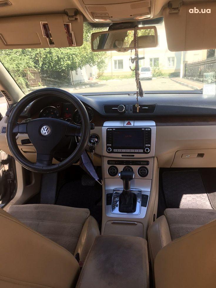 Volkswagen Passat 2007 черный - фото 19