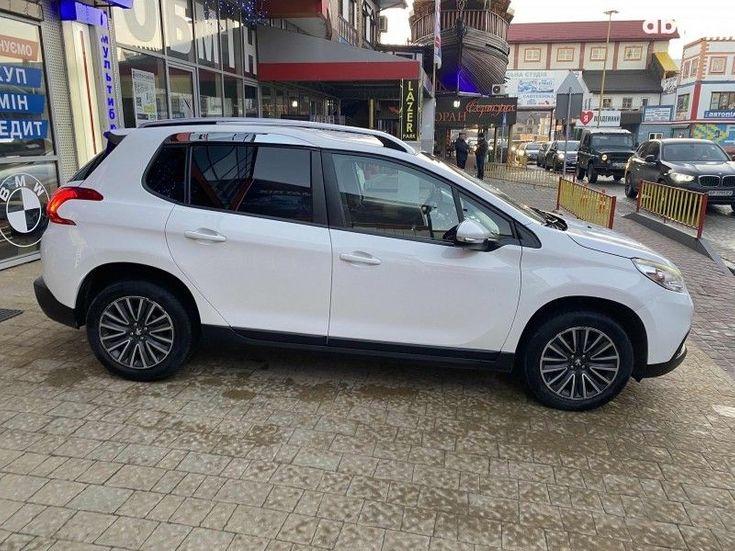 Peugeot 2008 2014 белый - фото 3