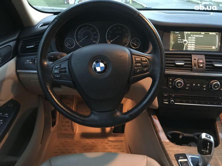 BMW X3 2013 черный - фото 18