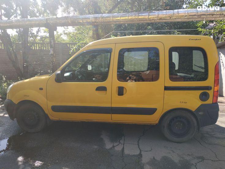 Renault Kangoo 2003 желтый - фото 7