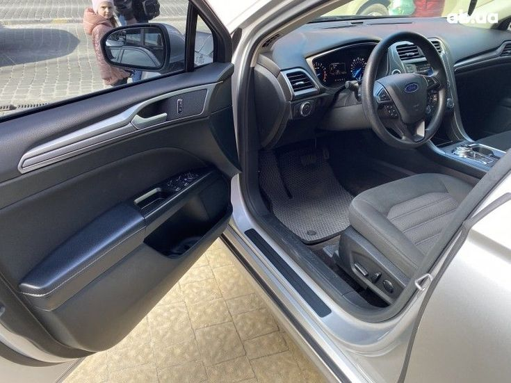 Ford Fusion 2016 серебристый - фото 5