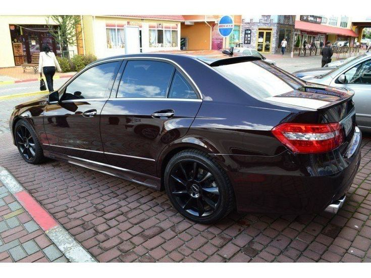 Mercedes-Benz E-Класс 2012 коричневый - фото 2