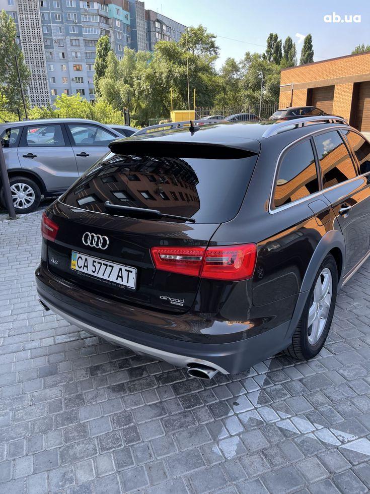 Audi a6 allroad 2013 коричневый - фото 12