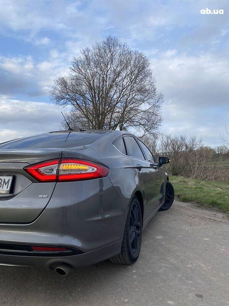 Ford Fusion 2014 серый - фото 15