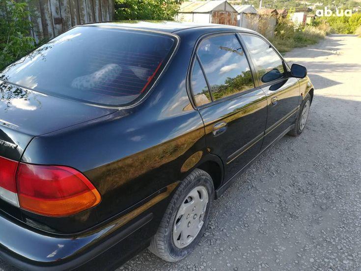 Honda Civic 1997 черный - фото 4