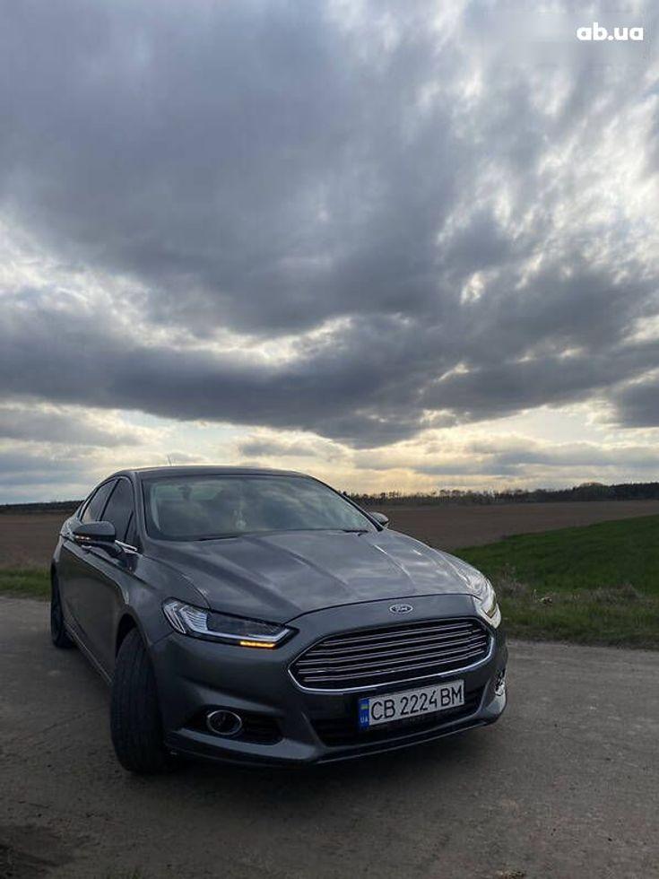 Ford Fusion 2014 серый - фото 17