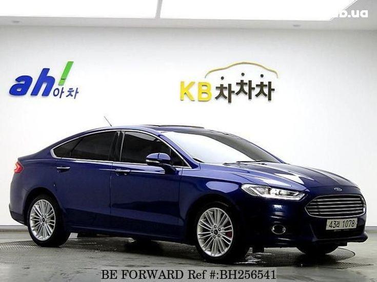 Ford Fusion 2014 синий - фото 2
