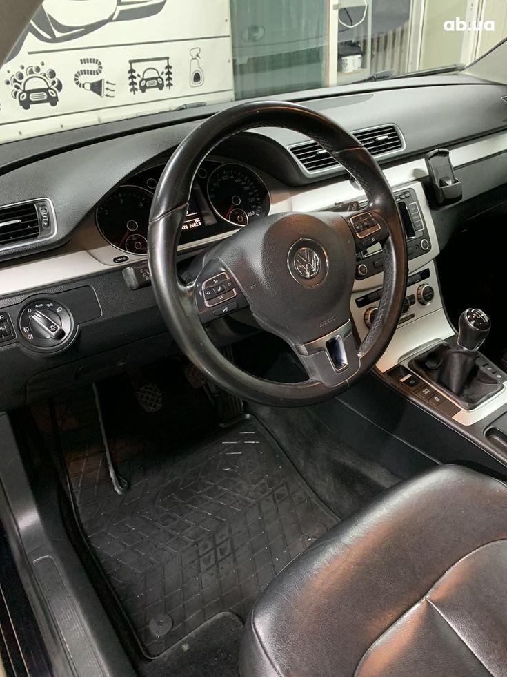 Volkswagen Passat 2014 черный - фото 5