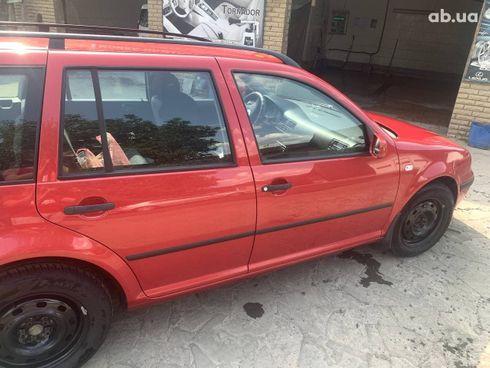 Volkswagen Bora 2004 красный - фото 7